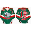 AK Bars Kazan 2002-03 Russian Hockey Jersey Dark