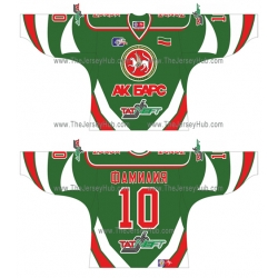 Ak Bars Kazan 2004-05 Russian Hockey Jersey Dark