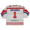 Lokomotiv Yaroslavl 2007-08 Russian Hockey Jersey Varlamov Light