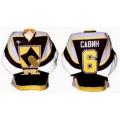 Mechel Chelyabinsk 2001-02 Russian Hockey Jersey Dark