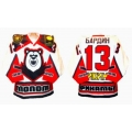 Molot Perm 1999-00 Russian Hockey Jersey Light