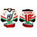 Neftyanik Almetyevsk 2001-02 Russian Hockey Jersey Light