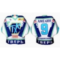 THS Tver 2002-03 Russian Hockey Jersey Light
