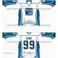 HC Ryazan 2013-14 Russian Hockey Jersey Light