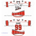 "Team Mosquito ""KomAr"" Russian Artist Hockey Jersey Light"