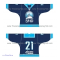 Russian Navy 2012-13 Russian Hockey Jersey Dark