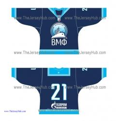 Russian Navy 2012-13 Russian Hockey Jersey Dark