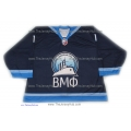 Russian Navy 2012-13 #1 Goalie Russian Hockey Jersey Dark