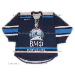 Russian Navy 2013-14 Russian Hockey Jersey Dark