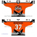 Sputnik Hockey Club 2013-14 Russian Hockey Jersey Dark