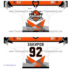 Sputnik Hockey Club 2013-14 Russian Hockey Jersey Light