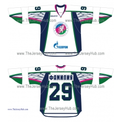 HC Kuban Krasnodar VHL 2014-15 Russian Hockey Jersey Light