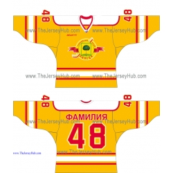 HC Lipetsk VHL 2014-15 Russian Hockey Jersey Light