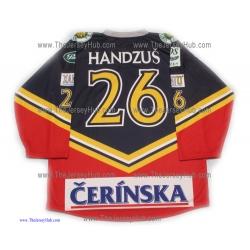 HC HKM Zvolen 2004-05 Slovak Extraliga Hockey Jersey Michal Handzus Dark