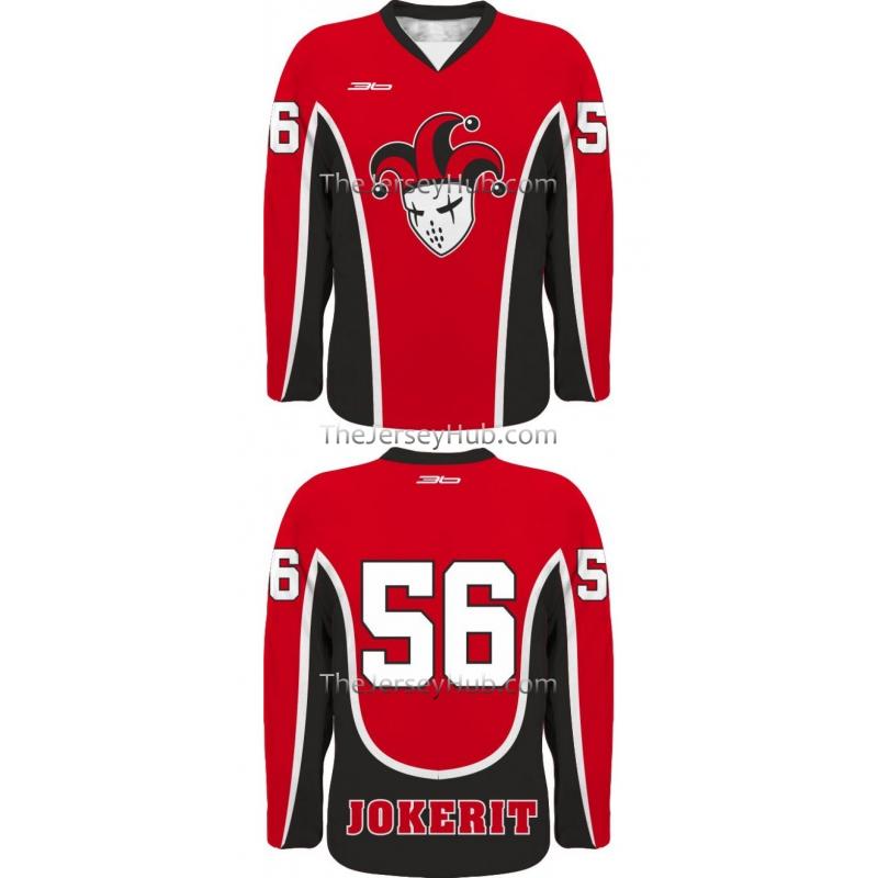 Jokerit Petrzalka Slovak Hockey Jersey Retro Dark a19f66060b2