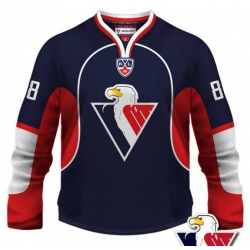 Slovan Bratislava KHL Hockey Jersey Dark