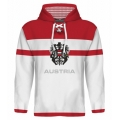 Team Austria Hooded Sweatshirt Light 4