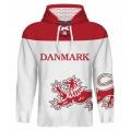 Team Denmark Hooded Sweatshirt Light 3