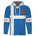 Team Finland Hooded Sweatshirt Dark 2