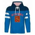Team Finland Hooded Sweatshirt Dark 4