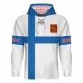 Team Finland Hooded Sweatshirt Light 2