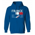 Team France Hooded Sweatshirt Dark 1