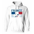 Team France Hooded Sweatshirt Light 1