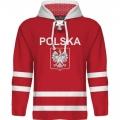 Team Poland Hooded Sweatshirt Dark 1