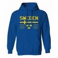 Team Sweden Hooded Sweatshirt Dark 1