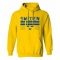 Team Sweden Hooded Sweatshirt Light 1