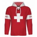 Team Switzerland Hooded Sweatshirt Dark 2