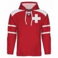 Team Switzerland Hooded Sweatshirt Dark 4