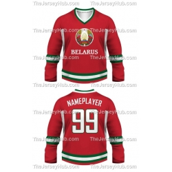 Team Belarus Hockey Jersey Dark