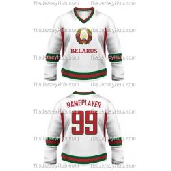 Team Belarus Hockey Jersey Light