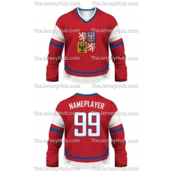 Team Czech Republic Hockey Jersey Dark