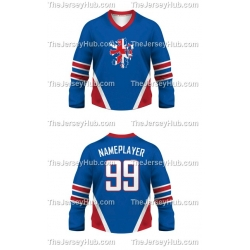 Team England Hockey Jersey Dark