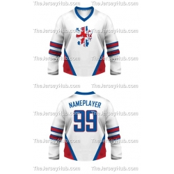 Team England Hockey Jersey Light