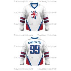 Team England Hockey Jersey Light