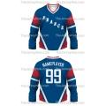 Team France Hockey Jersey Dark