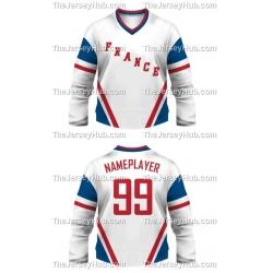 Team France Hockey Jersey Light