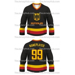 Team Germany Hockey Jersey Dark
