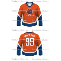 Team Holland Netherlands Hockey Jersey Dark