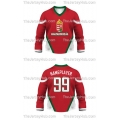 Team Hungary Hockey Jersey Dark