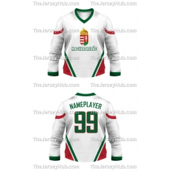 Team Hungary Hockey Jersey Light