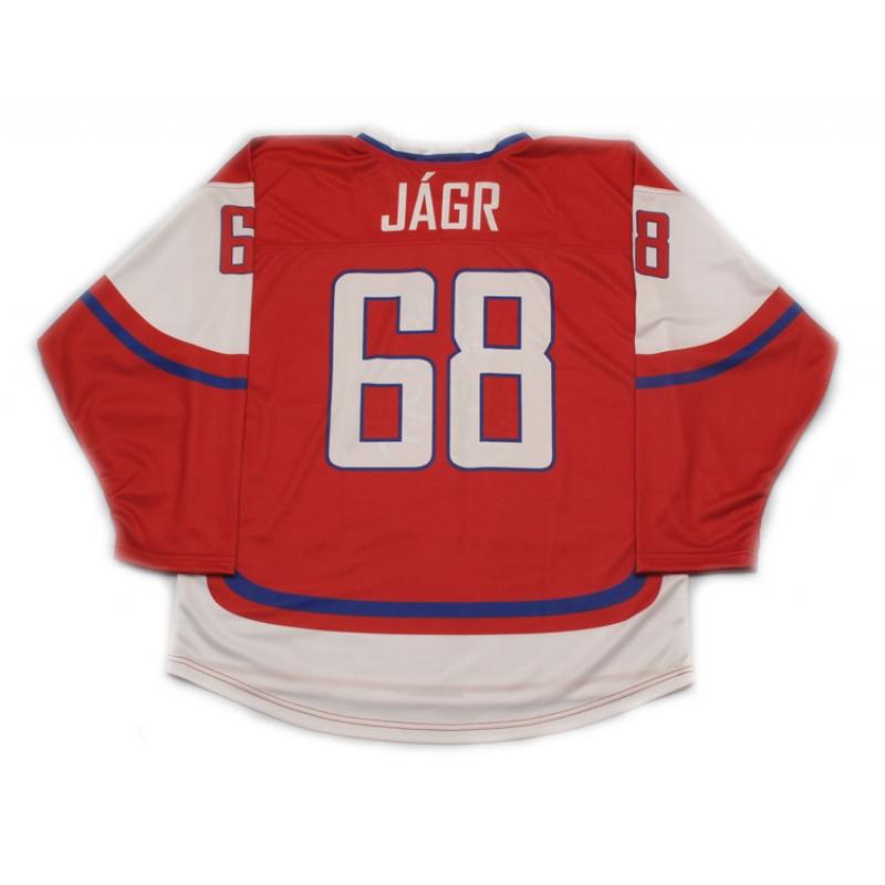 size 40 69570 d327b Team Czech Republic Jaromir Jagr Hockey Jersey Dark