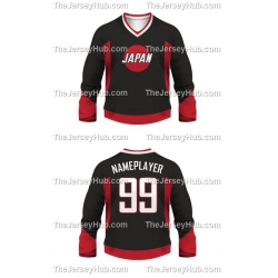 Team Japan Hockey Jersey Dark