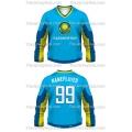 Team Kazakhstan Hockey Jersey Dark