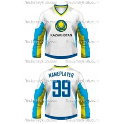 Team Kazakhstan Hockey Jersey Light