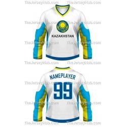 Team Kazakhstan Hockey Jersey Light