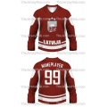 Team Latvia Hockey Jersey Dark